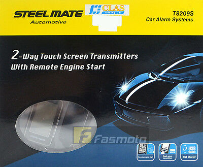 Steelmate T8209S Car Alarm System 2 Way Touchscreen Remote with Remote Start