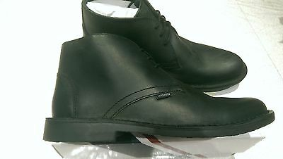 LAMBRETTA CANARY DESERT BOOTS MID Classic Leather Lace Up UK size 6