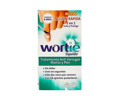 New Wortie=Wartie  Liquid Verruca Wart Remover Treatment 5ml