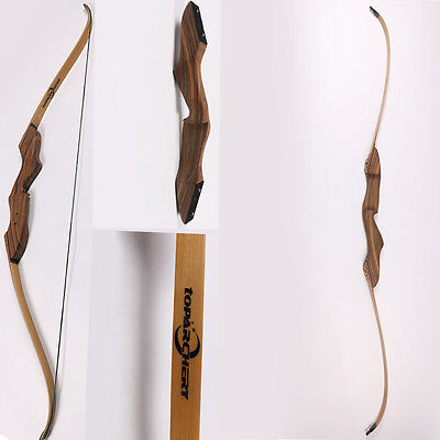 "60"" 45lbs Archery Take Down Recurve Bow Longbow Right Hand Shooting Game Hunting"