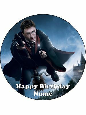 Harry Potter 19Cm  Edible Icing Image Cake Toppers #1