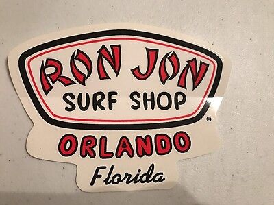 Ron Jon Surf Shop Orlando, Florida Sticker
