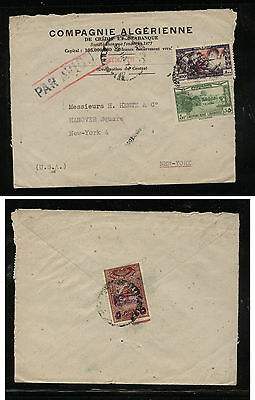 Lebanon cover  to  US   stamp on back       JS0105