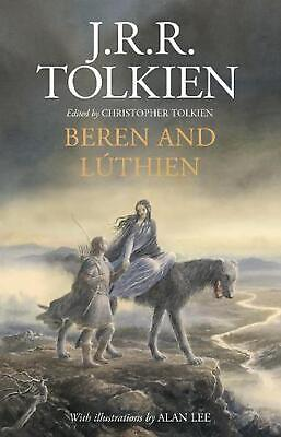 Beren and Luthien by J.R.R. Tolkien (English) Hardcover Book Free Shipping!
