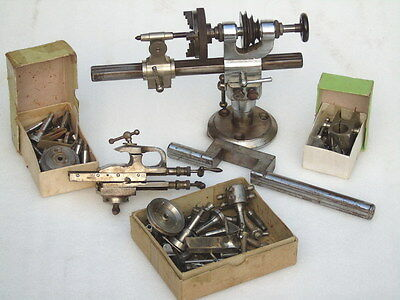 Superb Rare Antique G. Boley German Watch Makers Machining Lathe