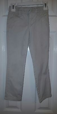Cherokee Girls Size 5 Beige Khaki School Uniform Pants 200
