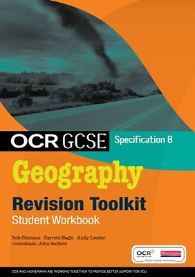 OCR GCSE Geography B: Revision Toolkit Student Workbook, Good Condition Book, Mr
