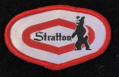 STRATTON Vintage Skiing Ski Patch VERMONT VT State Resort Souvenir Travel