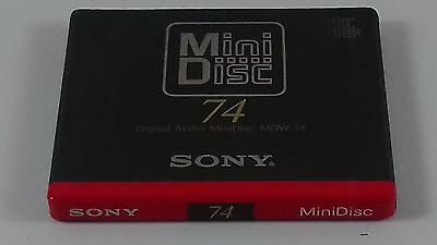 First Ever MD Sony New Sealed Minidisc MDW 74