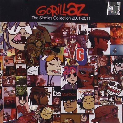 Gorillaz The Singles Collection 2001 - 2011 Cd (Greatest Hits / Very Best Of)