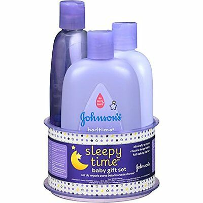 Johnsons Baby Child Care Sleepy Time Baby Gift Set, 3 Items
