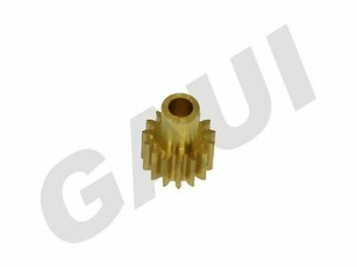 Gaui Pinion Gear with Neck 15T (for 2.3mm shaft) [901502]