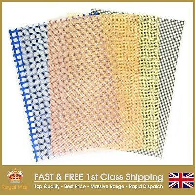 The Mesh Company's Woven Wire Mesh - A4 Sample Sheet-MADE IN THE UK-Full Range