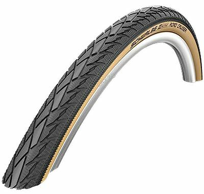 "Schwalbe Road Cruiser White Wall Tyre 20 x 1.75 "" (47-406) HS377 Wired Bike Tire"