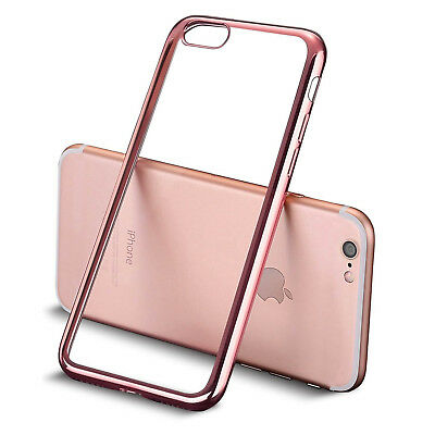 20 x Bulk Joblot Wholesale Electroplated TPU Cover Case for iPhone 7 Rose Gold