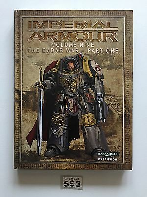 Warhammer 40,000 Forge World Imperial Armour Volume Nine The Badab War Part One