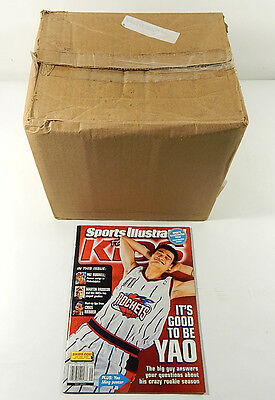 Case of (75) Sports Illustrated For Kids #5 Magazine (May 2003) LeBron James RC
