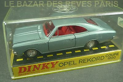 DINKY TOYS FRANCE. OPEL REKORD coupé 1900.+ Boite.  REF: 1405.