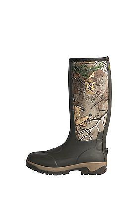 Noble Outfitters Outdoor Boot Men Cold Front Muck 7 R Brown Camo 65010