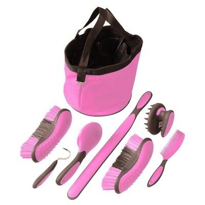 Tough-1 8 Pc Great Grip Grooming Pkg Pink