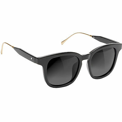 "New in box GLASSY Sunhaters ""Royal"" Skateboard Sunglasses (Black / Gold)"
