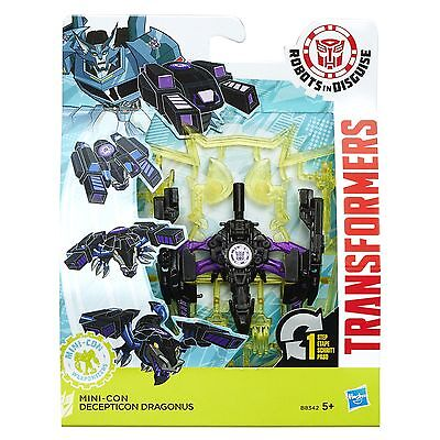 Transformers Robots in Disguise Mini-Con Weaponizers DRAGONUS Figure (B8342)