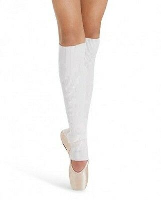 "Capezio Girls 18"" Stirrup Legwarmers One Size - CK1037C"