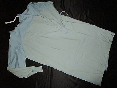 Best Medical Unisex Surgeon Gown inside & outside Ties With Knit Ciffs Size 3X