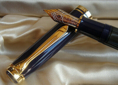 Pelikan Limited Edition Concerto Fountain Pen Med Pt New In Box 3535/4000