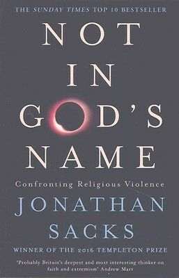 Not in God's Name by Jonathan Sacks Paperback Book