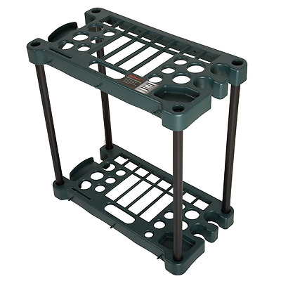 Stalwart Compact Garden Fits Over 30 Tools Storage Rack