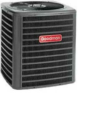 Goodman 2.5 Ton 14 SEER Central Air Conditioner w/uncased A-Coil System Package