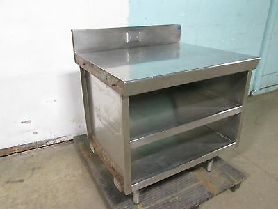 Heavy Duty Commercial S.s. (Nsf) Soda/beverage Station/counter/equipment Stand