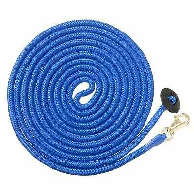 Tough-1 Safety Shock Poly Bungee Lunge Line 25ft Royal Blue