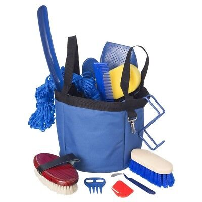 Tough-1 Show Time Groomers Set with Tote Blue