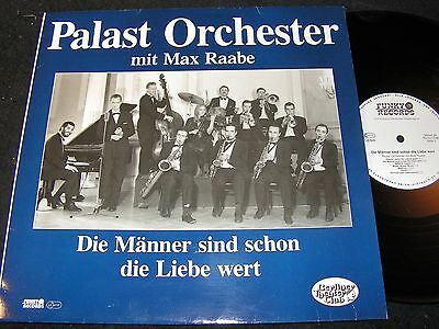 MAX RAABE & PALAST ORCHESTER.../ West LP 1988 mit DDR-MATRIX FUNKY RECORDS FU-33
