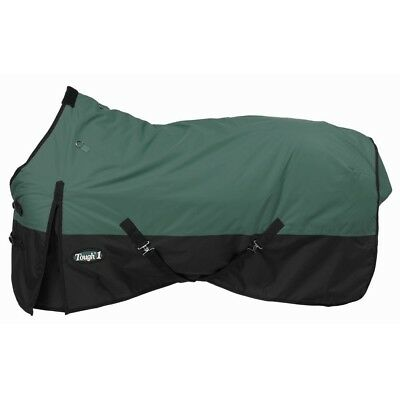 "Tough-1 600D Waterproof Poly Turnout Blanket 57"" Hunter"