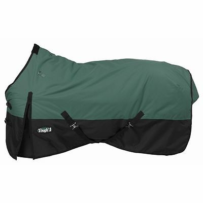"Tough-1 600D Waterproof Poly Turnout Blanket 60"" Hunter"