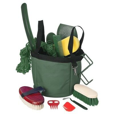 Tough-1 Show Time Groomers Set with Tote Green