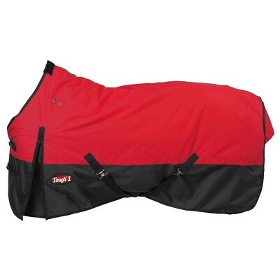"Tough-1 600D Waterproof Poly Turnout Blanket 72"" Red"