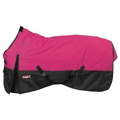 "Tough-1 600D Waterproof Poly Turnout Blanket 75"" Pink"