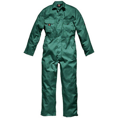 Dickies Mens Redhawk Economy Overalls Lincoln Green S 30""