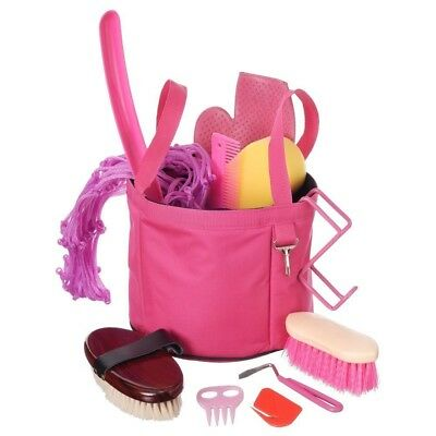 Tough-1 Show Time Groomers Set with Tote Pink