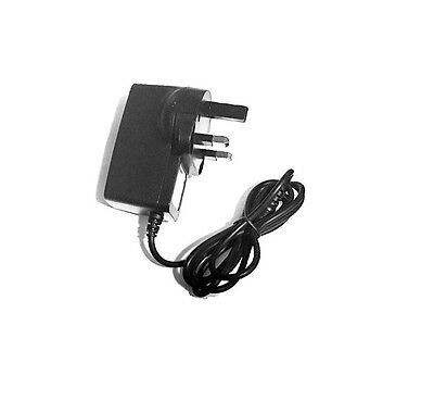 Mains Power Charger Uk Plug For Mighty Bright Duet 2
