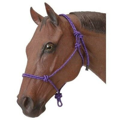 Tough-1 6-Pack Poly Rope Tied Halter 6 Pack