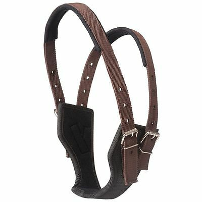 Tough-1 Synthetic Poly Crib Be Gone Comfort Collar Horse Brown