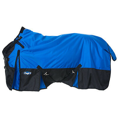 "Tough-1 Extreme 1680D Waterproof Poly Turnout Blanket 72"" Royal Blue"
