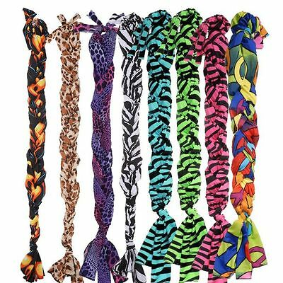 Tough-1 6 Pack Lycra Braid In Tail Bag Prints 6 Pack
