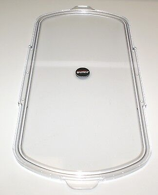 Bunn Ultra CDS Hopper Flat Lid, FACTORY PARTS, Clear, 29481.0001  p