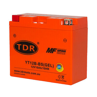 UT12B-4 YT12B-BS 12V GEL Motorcycle Battery Yamaha YZF R1 1999 2000 2001 2002